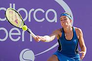 Anastasija Sevastova (LAT) during the Mallorca Open at Country Club Santa Ponsa on June 22, 2018 in Mallorca, Spain. Photo Credit: Katja Boll/EVENTMEDIA.
