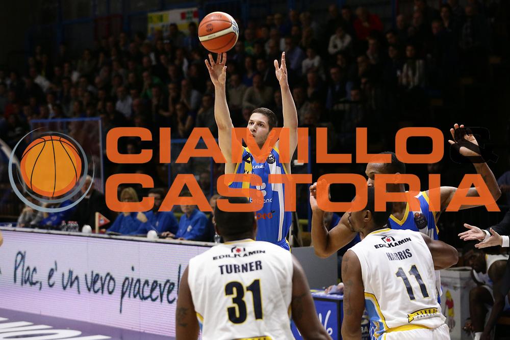 Nikola Ivanovic<br /> Vanoli Cremona - Betaland Capo D Orlando<br /> Lega Basket Serie A 2016/2017<br /> Cremona 12/03//2017<br /> Foto Ciamillo-Castoria / M. Brondi