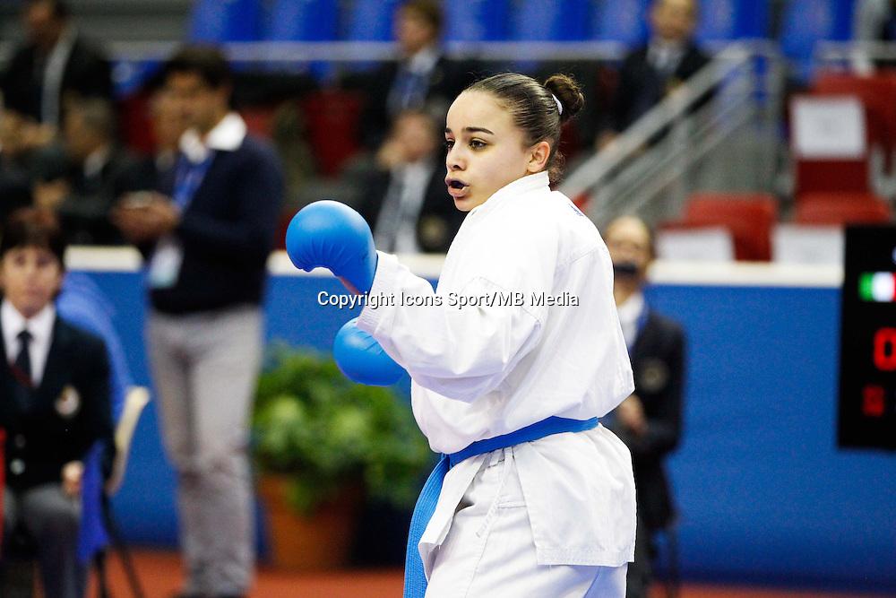 Sabah BRIHMAT - 24.01.2015 - Open de Paris - Karate Premier League -<br />Photo : Johnny Fidelin / Icon Sport