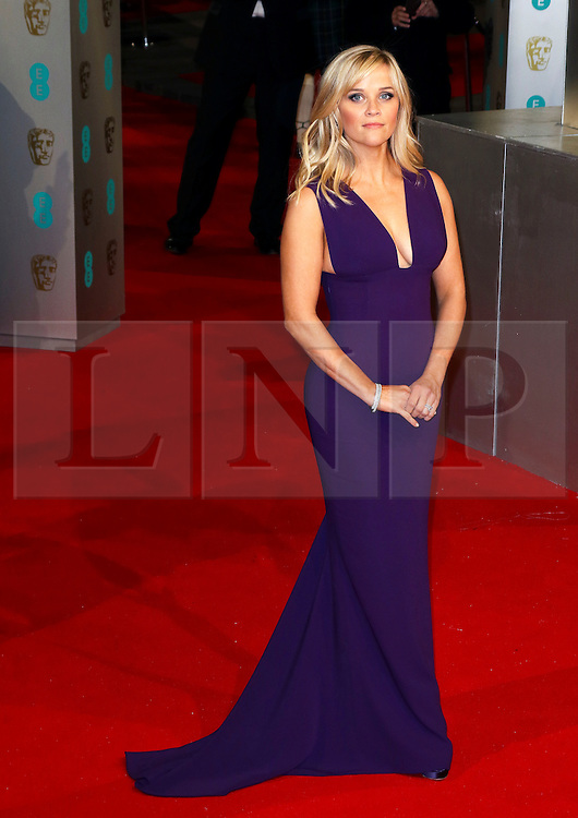 © London News Pictures. Reese Witherspoon, EE British Academy Film Awards (BAFTAs), Royal Opera House Covent Garden, London UK, 08 February 2015, Photo by Richard Goldschmidt /LNP
