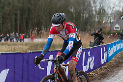 Mathieu van der Poel (NED) of BKCP-Powerplus, Men Elite, Cyclo-cross World Cup Hoogerheide, The Netherlands, 25 January 2015, Photo by Pim Nijland / PelotonPhotos.com