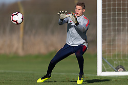 November 12, 2018 - Brentford, London, Europe - England - Tuesday November 13, 2018: The USMNT train in preparation before an international friendly against England. (Credit Image: © John Dorton/ISIPhotos via ZUMA Wire)