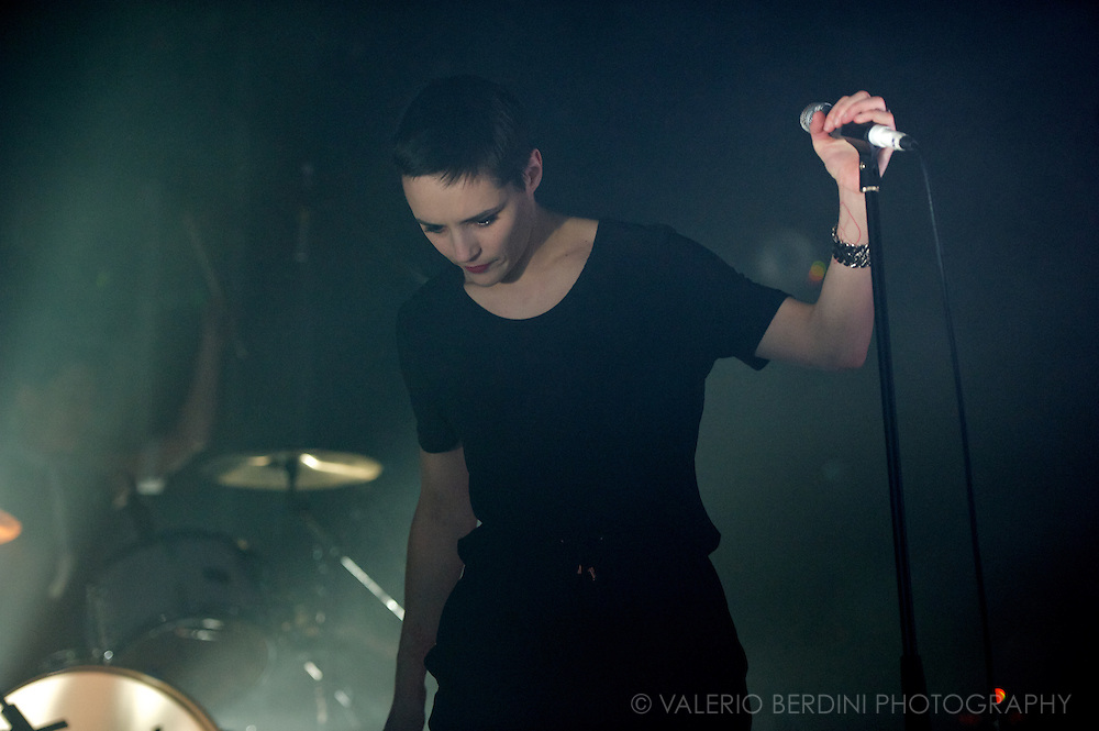 Savages live at the Electric Ballroom in Camden Town, London on 21 February 2013
