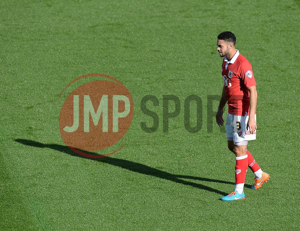 Bristol City's Derrick Williams - Photo mandatory by-line: Alex James/JMP - Mobile: 07966 386802 - 11/10/2014 - SPORT - Football - Bristol - Ashton Gate - Bristol City v Chesterfield - Sky Bet League One