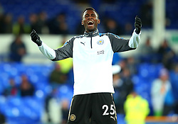 Wilfred Ndidi of Leicester City - Mandatory by-line: Robbie Stephenson/JMP - 31/01/2018 - FOOTBALL - Goodison Park - Liverpool, England - Everton v Leicester City - Premier League