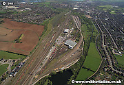 aerial photograph of Toton TMD  Nottingham Nottinghamshire  England Great Britain UK