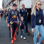 NLD/Zandvoort/20190518 - Jumbo Racedagen 2019, Max Verstappen met familie