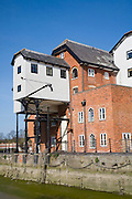 The Mill conversion development of hotel and apartments from industrial building, Colchester, Essex, England