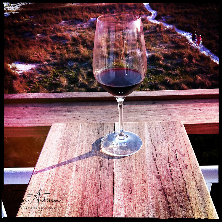 Wine glass - Siesta Key, Florida