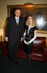 RICHARD & BASIA BRIGGS at a reception to support The Hyde Park Appeal at the Officers Mess, Hyde Park Barracks, London SW1 on 24th January 2007.<br /><br />NON EXCLUSIVE - WORLD RIGHTS