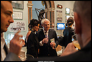 NANCY DELL D'OLIO; LORD LAMONT, Royal Academy of Arts Summer Exhibition 2014. Piccadilly. London. 4 June 2014.