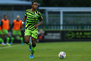 Forest Green Rovers Udoka Godwin-Malife(22)  during the EFL Trophy match between Forest Green Rovers and U21 Southampton at the New Lawn, Forest Green, United Kingdom on 3 September 2019.