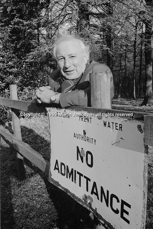 Benny Rothman. Moorland access campaigner and leader of the mass tresspass on  Kinder Scout in the 1930s.