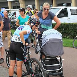 30-08-2017: Wielrennen: Boels Ladies Tour: Arnhem: Christina Becker, zus van Charlotte met Trixi Worrack.