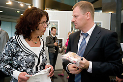 Anita Ogulin of Zveza prijateljev mladine Slovenije during opening of Photo exhibition in Hypo bank, on May 19, 2010 in Ciytpark, BTC, Ljubljana, Slovenia. (Photo by Vid Ponikvar / Sportida)
