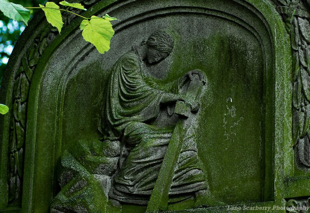 Christian Gravestone in Aberdeen, Scotland