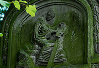 Christian Gravestone in Aberdeen, Scotland