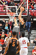 LUBBOCK, TX - MARCH 1: Jarrett Allen #31 of the Texas Longhorns dunks the basketball during the game against the Texas Tech Red Raiders on March 1, 2017 at United Supermarkets Arena in Lubbock, Texas. Texas Tech defeated Texas 67-57. (Photo by John Weast/Getty Images) *** Local Caption *** Jarrett Allen
