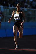 May 5, 2007; Modesto, CA, USA; Alexis Weatherspoon wins womens 200m heat in a wind-aided 23.51 at the 66th Modesto Relays at Modesto Junior College.