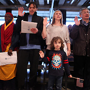 during a naturalization ceremny at Fischer Pavilion on Friday, March 9, 2012.  (Joshua Trujillo, seattlepi.com)
