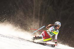 Franziska Gritsch (AUT) during the Ladies' Slalom at 56th Golden Fox event at Audi FIS Ski World Cup 2019/20, on February 16, 2020 in Podkoren, Kranjska Gora, Slovenia. Photo by Matic Ritonja / Sportida