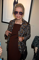 VERONICA, COUNTESS OF LUCAN at a private view of fashion designer Lindka Cierach's Couture Dresses drawn by Trudy Good held at the Belgravia Gallery, 45 Albemarle Street, London on 21st September 2005.<br /><br />NON EXCLUSIVE - WORLD RIGHTS