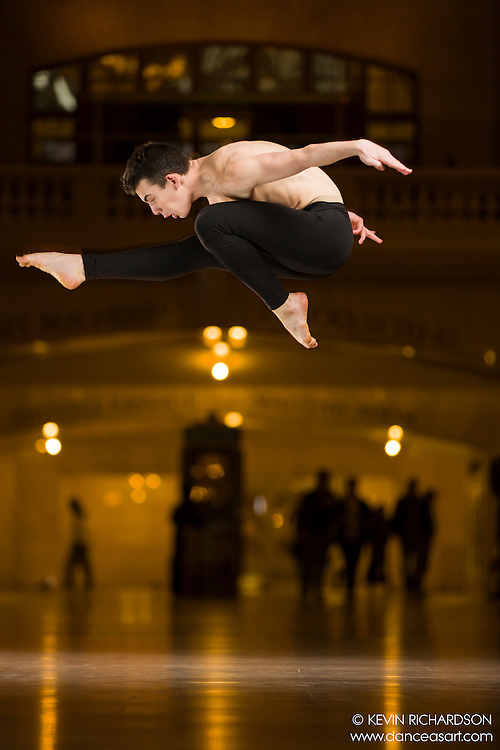 Dance As Art The New York Photography Project Grand Central Series with Jared Harbour