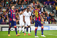 Deception Blaise MATUIDI - 21.04.2015 - Barcelone / Paris Saint Germain - 1/4Finale Retour Champions League<br />
