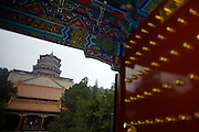 Imperial Summer Palace (Yihe Yuan). Foxiangge (Sea of Wisdom Temple).
