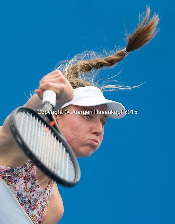 Mona Barthel (GER)<br /> <br />  - Australian Open 2015 -  -  Melbourne Park Tennis Centre - Melbourne - Victoria - Australia  - 20 January 2015. <br /> &copy; Juergen Hasenkopf