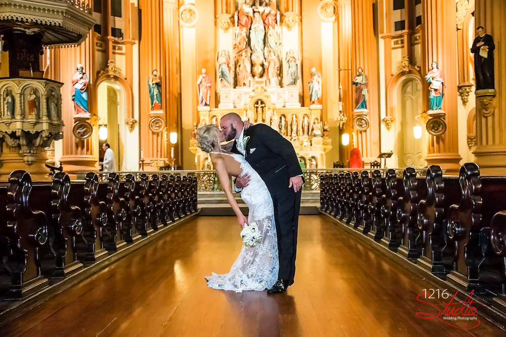 Randy & Jessica Wedding Album St. Mary's Assumption Ceremony Southport Hall Reception 1216 Studio New Orleans Wedding Photographers