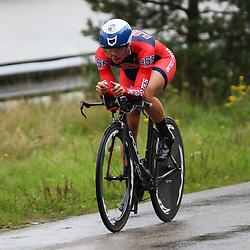 04-09-2015: Wielrennen: Ladiestour: Oosterhout OOSTERHOUT (NED) wielrennen<br />De vierde etappe was in Oosterhout een gevecht tegen het uurwerk. Lauren Hall