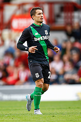 Bojan Krkic of Stoke City in action - Mandatory by-line: Jason Brown/JMP - Mobile 07966 386802 25/07/2015 - SPORT - FOOTBALL - Brentford, Griffin Park - Brentford v Stoke City - Pre-Season Friendly