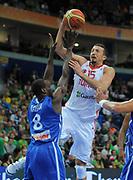 DESCRIZIONE : Vilnius Lithuania Lituania Eurobasket Men 2011 Second Round Turchia Francia Turkey France<br /> GIOCATORE : Hidayet Turkoglu<br /> SQUADRA : Turchia Turkey<br /> EVENTO : Eurobasket Men 2011<br /> GARA : Turchia Francia Turkey France<br /> DATA : 07/09/2011 <br /> CATEGORIA : tiro shot<br /> SPORT : Pallacanestro <br /> AUTORE : Agenzia Ciamillo-Castoria/T.Wiendesohler<br /> Galleria : Eurobasket Men 2011 <br /> Fotonotizia : Vilnius Lithuania Lituania Eurobasket Men 2011 Second Round Turchia Francia Turkey France<br /> Predefinita :