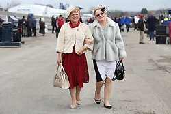 © Licensed to London News Pictures. 08/04/2016. Liverpool, UK. on Ladies Day at the Grand National 2016 at Aintree Racecourse near Liverpool. The race, which was first run in 1839, is the most valuable jump race in Europe. Photo credit : Ian Hinchliffe/LNP