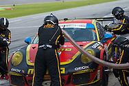 #30 NGT Motorsport Porsche 911 GT America: Henrique Cisneros, Kuba Giermaziak, Christina Nielsen, Nicki Thiim