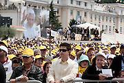 21-06-2009 San Giovanni Rotondo, Foggia. ITALY.<br /> Pope Benedict XVI visits San Giovanni Rotondo the place where Saint Pio from Pietralcina lived and worked.