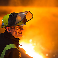 04/04/16 - Tata Steel Scunthorpe - Heavy End - Steel Production