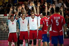 20120802 Olympics London 2012 håmdbold Danmark-Serbien