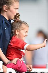 Bristol Academy supporters - Mandatory by-line: Paul Knight/JMP - 25/07/2015 - SPORT - FOOTBALL - Bristol, England - Stoke Gifford Stadium - Bristol Academy Women v Sunderland AFC Ladies - FA Women's Super League