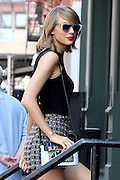 May 26, 2015 - New York, New York, U.S. -<br /> <br /> Taylor Swift Out In New York<br /> <br /> Singer and songwriter TAYLOR SWIFT seen walking in New York. Swift was named one of the most powerful women in the world after the list in Forbes Power Women this year.<br /> ©Exclusivepix Media