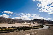 Indus river, Leh valley.