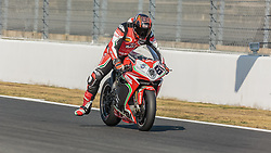 September 28, 2018 - 81, Jordi Torres, ESP, MV Agusta 1000 F4, MV Agusta Reparto Corse, SBK 2018, MOTO - SBK Magny-Cours Grand Prix 2018, Free Practice 3, 2018, Circuit de Nevers Magny-Cours, Acerbis French Round, France ,September 28 2018, action during the SBK Free Practice 3 of the Acerbis French Round on September 28 2018 at Circuit de Nevers Magny-Cours, France (Credit Image: © AFP7 via ZUMA Wire)