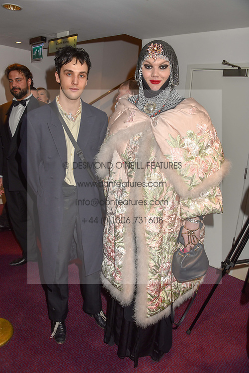 26 January 2020 - Vidar Logi and Daniel Lismore at the Ballet Icons Gala at the London Coliseum, St.Martin's Lane, London.<br /> <br /> Photo by Dominic O'Neill/Desmond O'Neill Features Ltd.  +44(0)1306 731608  www.donfeatures.com
