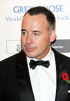 LONDON - NOVEMBER 10: David Furnish attended the Grey Goose Winter Ball at Battersea Power Station, London, UK. November 10, 2012. (Photo by Richard Goldschmidt)