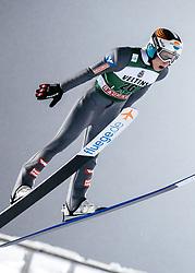 February 8, 2019 - Lahti, Finland - Jan Hörl competes during FIS Ski Jumping World Cup Large Hill Individual Qualification at Lahti Ski Games in Lahti, Finland on 8 February 2019. (Credit Image: © Antti Yrjonen/NurPhoto via ZUMA Press)