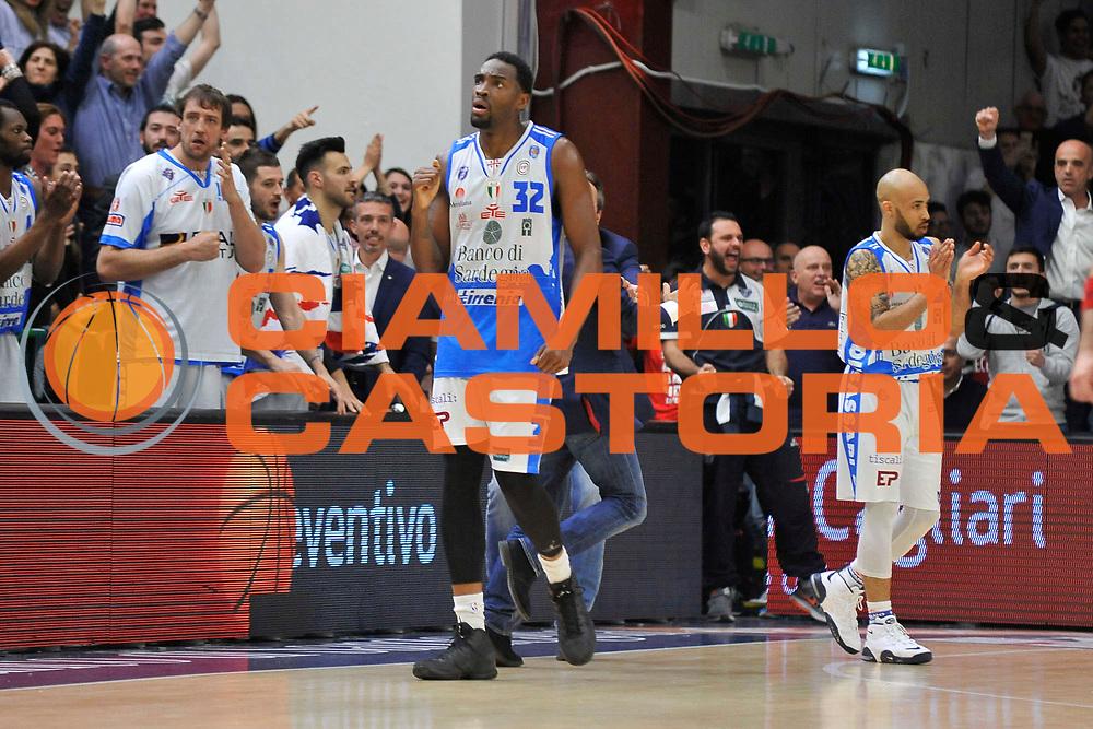 Sassari 04 Maggio 2016<br /> Dinamo Banco di Sardegna Sassari - Olimpia EA7 Emporio Armani Milano<br /> NELLA FOTO Jarvis Varnado<br /> FOTO CIAMILLO