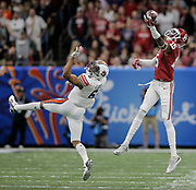 Jan 02, 2017  New Orleans,LA USA: Oklahoma wide receiver Jeffery Mead (15) tries to make a one handed catch during the NCAA  Allstate Sugar Bowl football game between Auburn Tigers and the Oklahoma Sooners 35-19 win at Mercedes-Benz Superdome New Orleans, LA. Thurman James / CSM