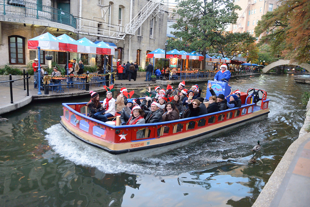 The river Walk,San Antonio,Texas,USA
