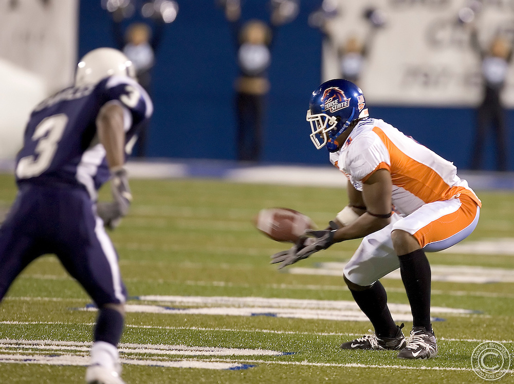 10-22-05- Logan Ut. Boise State vs.Utah State  in football at Romney Stadium. Boise State won 45-21.